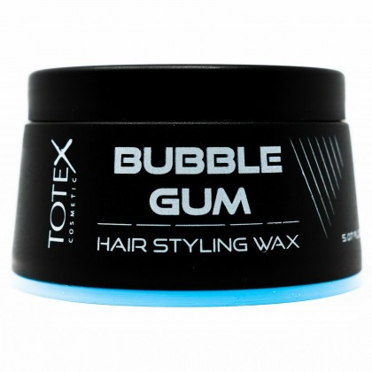 Pack of 12 Totex Bubble Gum hair styling wax size150ml Allows natural wet look