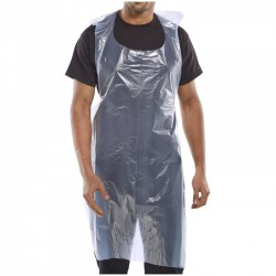 100 Disposable Plastic Aprons