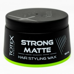 Totex Hair Styling Strong Matte Wax Give Natural Dry Look Size 150ml