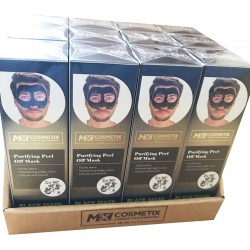 Pack Of 12 Mk Unisex Blackhead Removal Face Mask Size 100ml